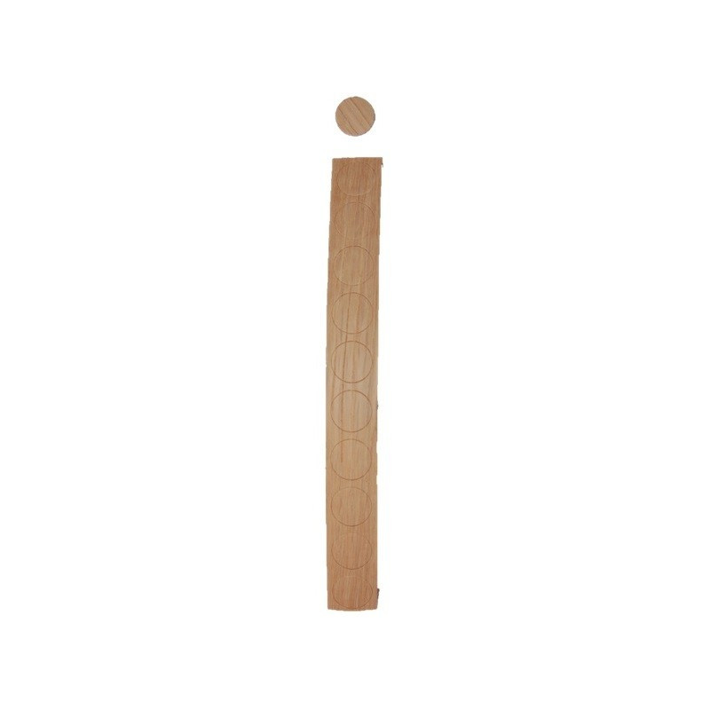 Cache vis chêne blanc (10 unités / bande)