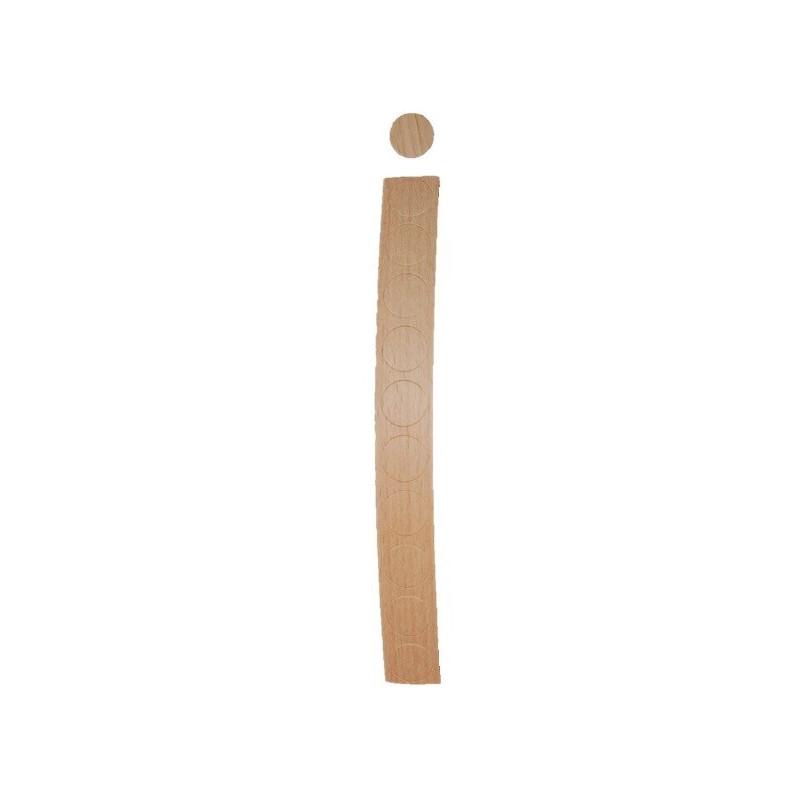 Cache vis Hêtre Etuvé (10 unités / bande)